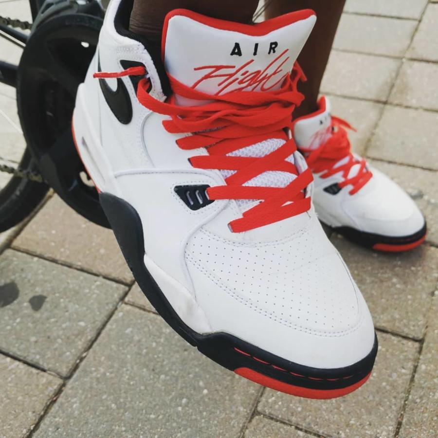 (2012) Nike Air Flight 89 White Black Sport Red - @ya_boy_l_roy