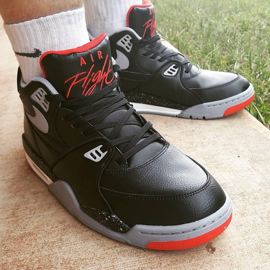 (2015) Nike Air Flight 89 Leather Bred - @jbswish74