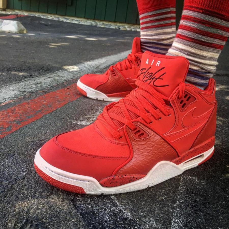 (2015) Nike Air Flight 89 Red Python - @jfi21