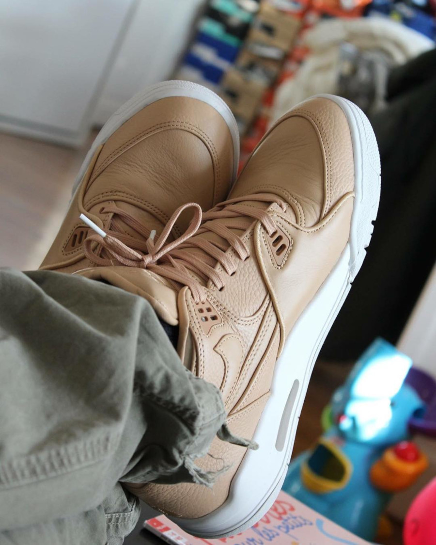 2015 NikeLab Air Flight 89 Vachetta Tan - @goldenmadyan