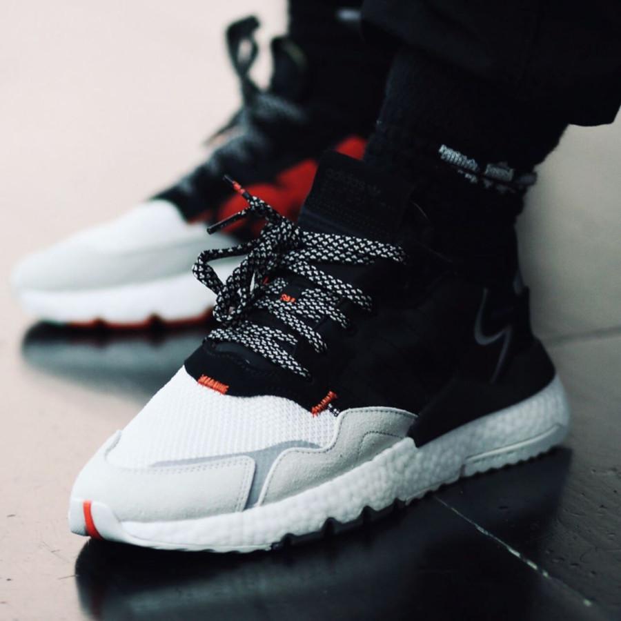 Adidas Nite Jogger 3M Scotchlite Black White EF9419