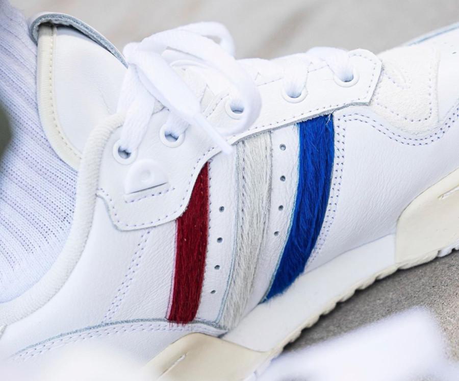 Adidas Rivalry basse blanche et en poils de poney EE4961 (4-1)