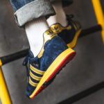 Adidas SL 80 SPZL Runner 'Collegiate Navy Gold Metallic'