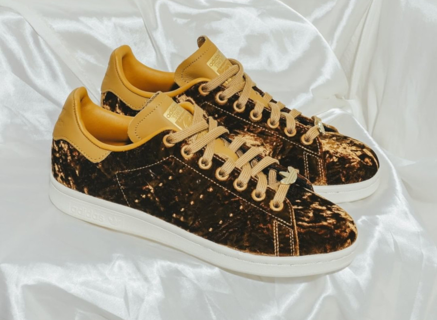 Adidas Stan Smith Velvet Mesa (velours marron) EH0175