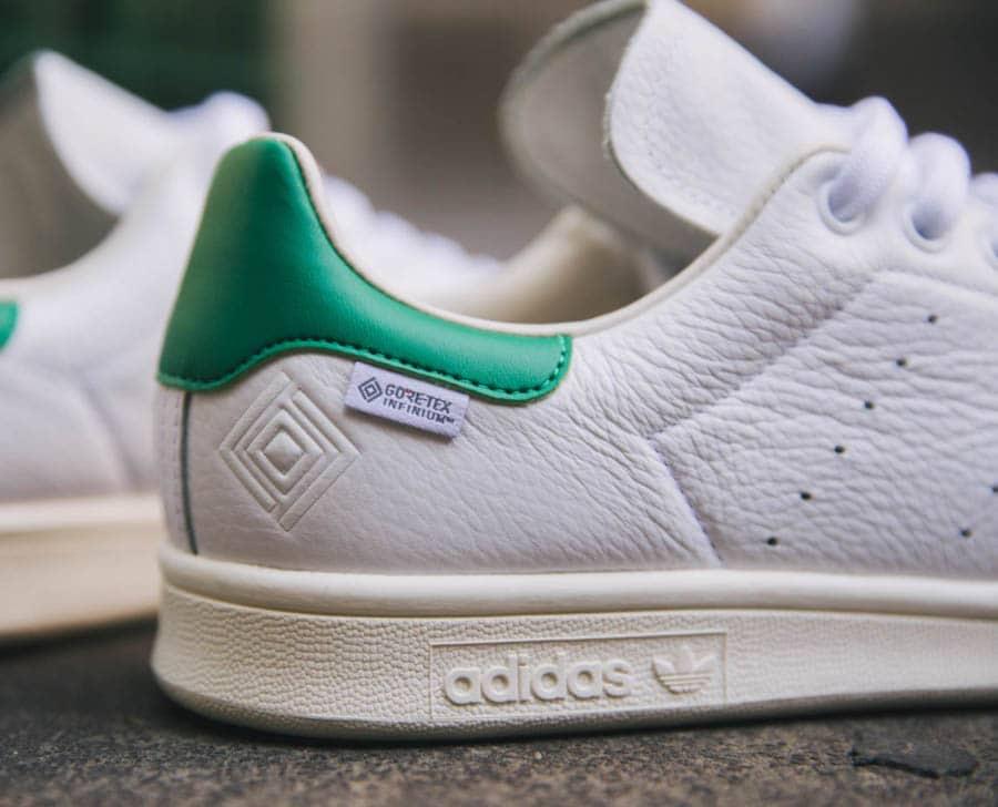Adidas Stan Smith blanche vintage et verte FU8926 (3)