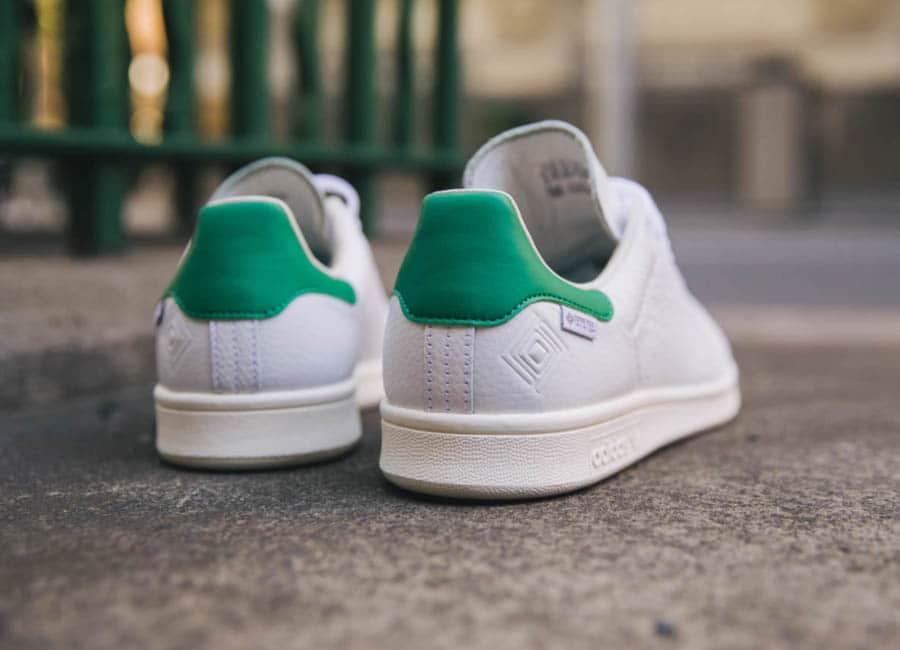 Adidas Stan Smith blanche vintage et verte FU8926 (5)