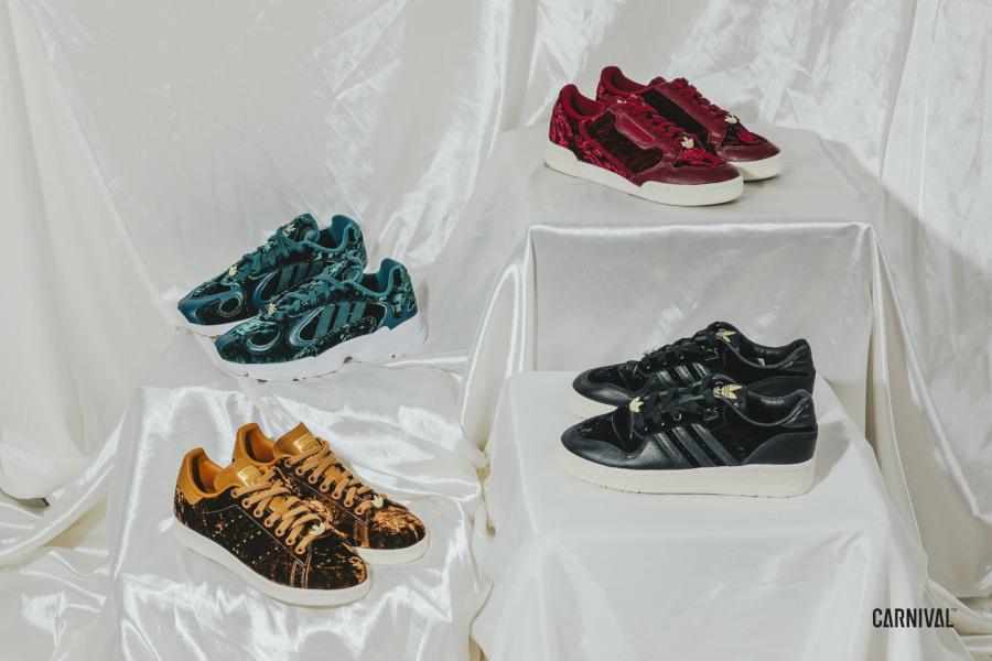 adidas stan smith velours