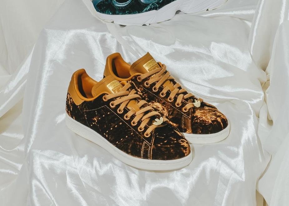 adidas stan smith cuir marron