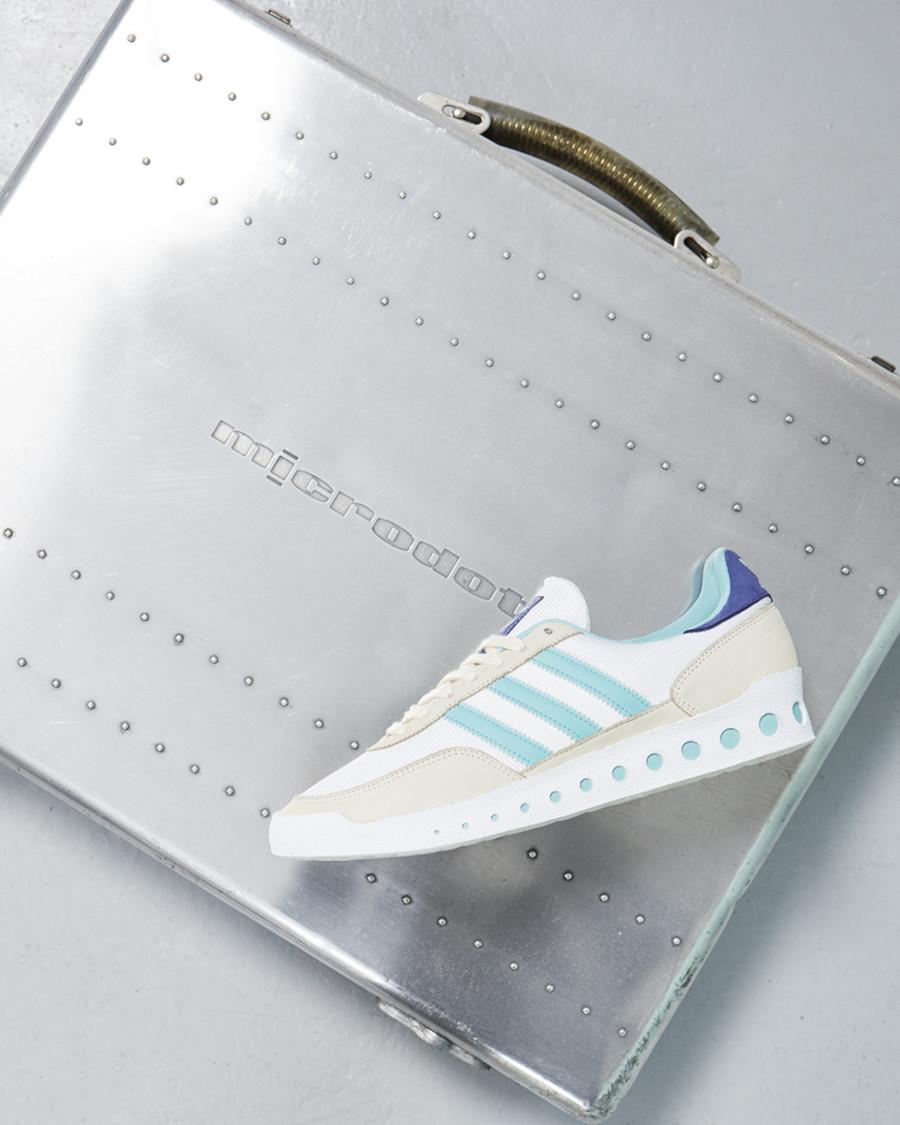 Adidas Training PT grise blanche et bleu ciel (1)