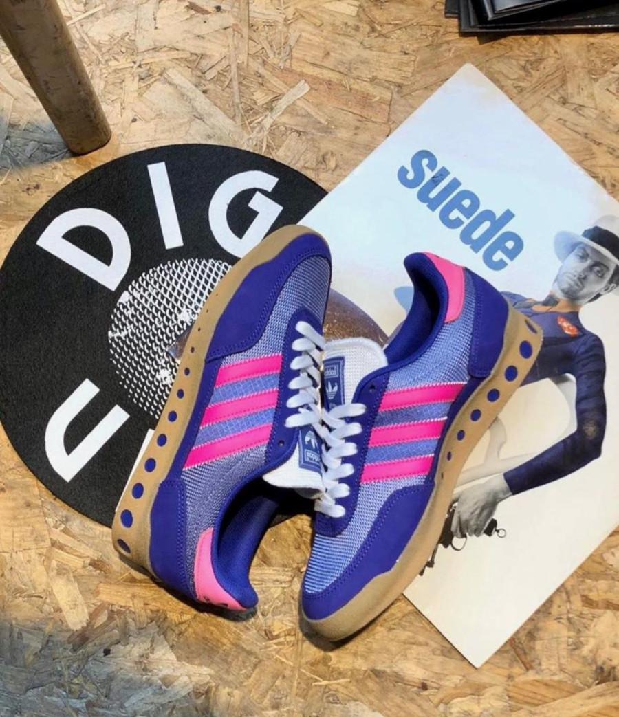 Adidas Training PT violet et bordeaux (1)