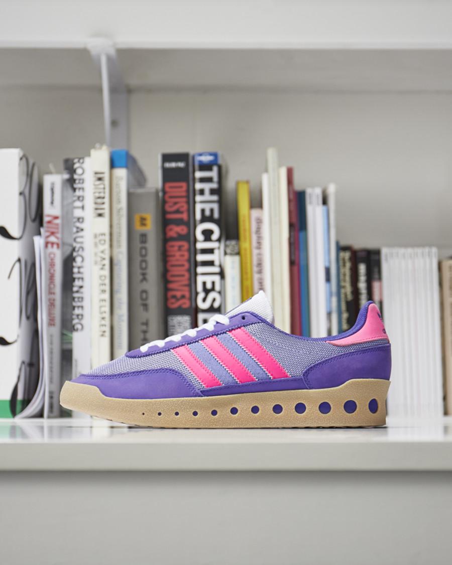 Adidas Training PT violet et bordeaux (2)