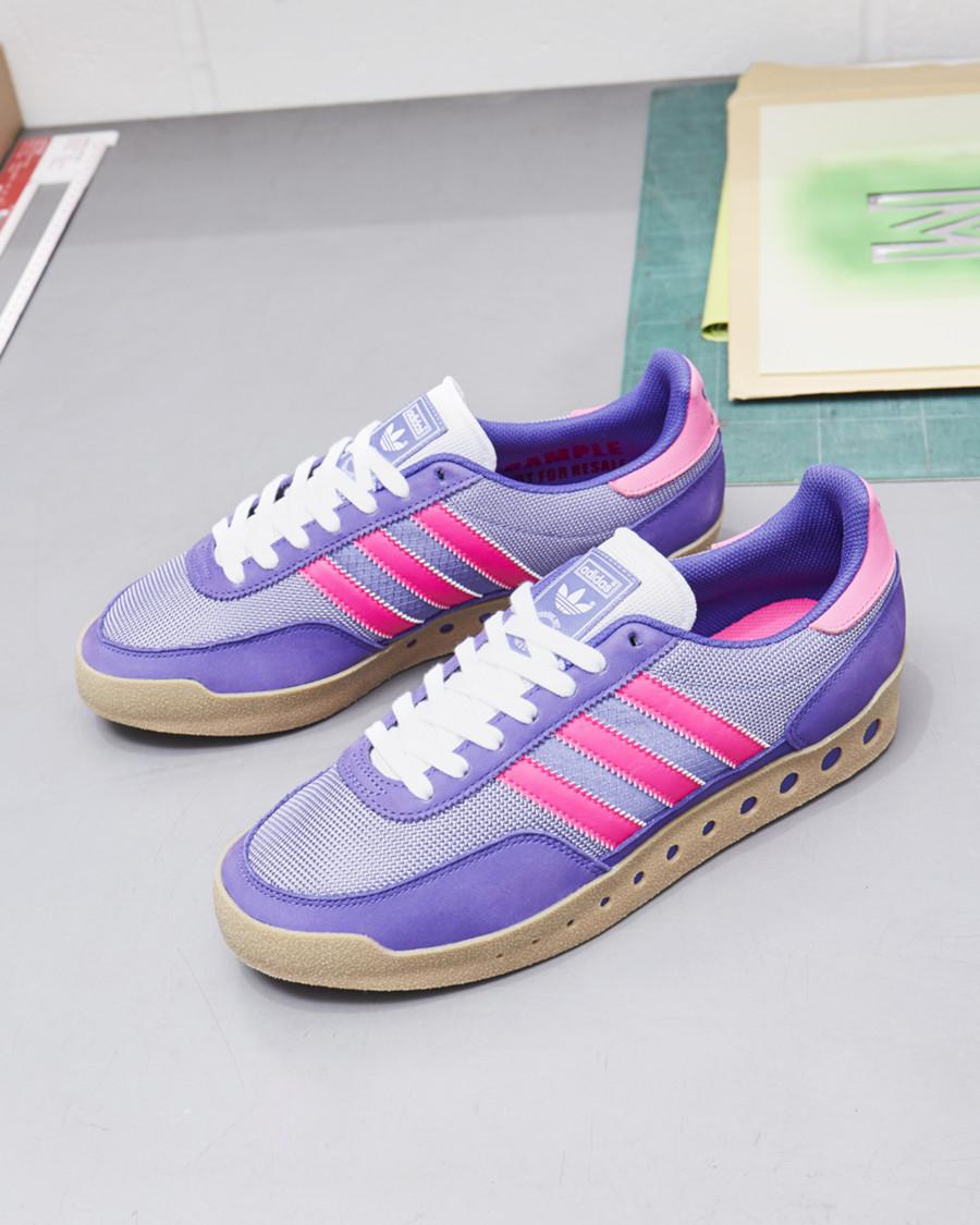 Adidas Training PT violet et bordeaux (3)