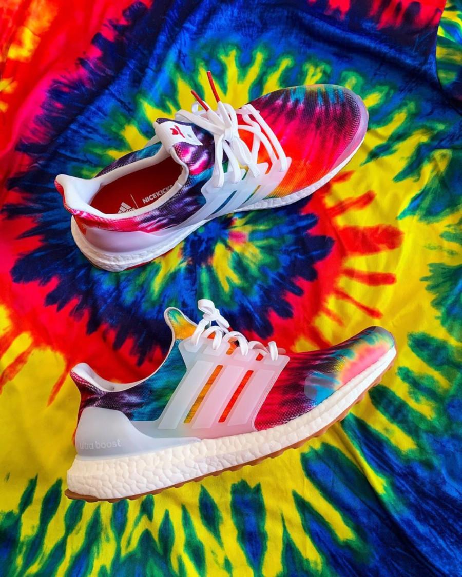 Adidas Ultra Boost avec imprimé psychédélique (2)