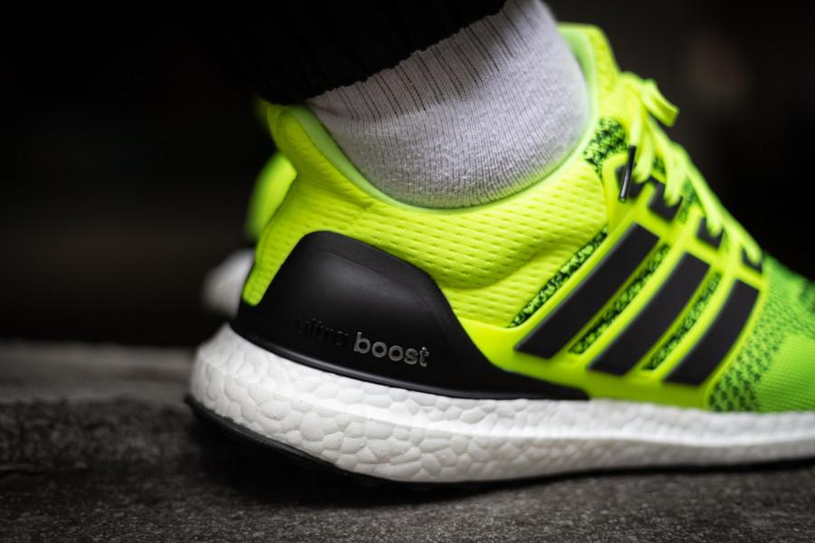 Adidas Ultraboost 1.0 jaune fluo EH1100 (2)