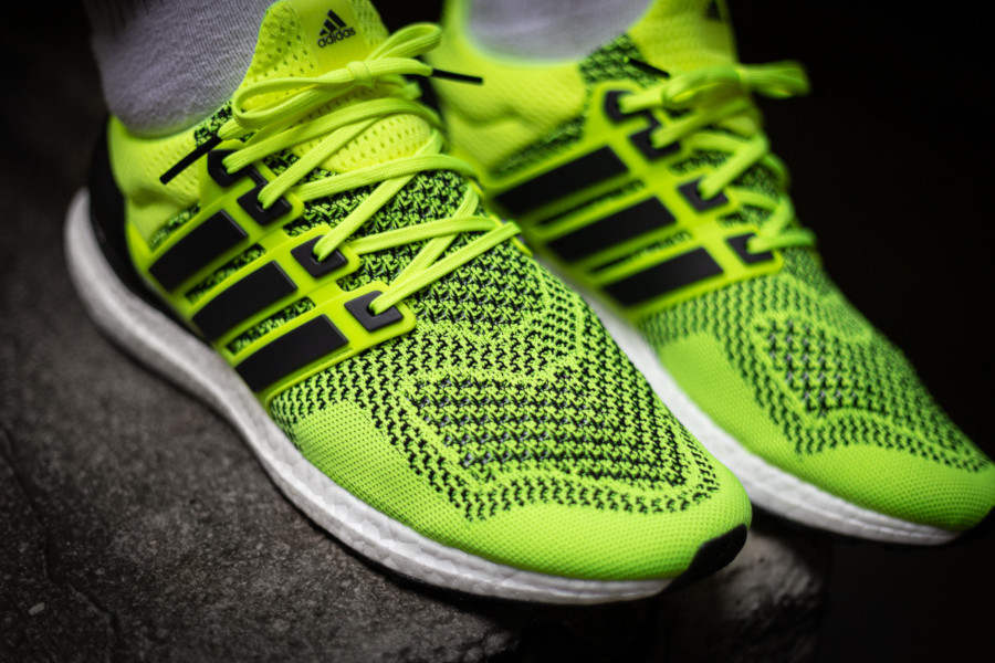 Adidas Ultraboost 1.0 jaune fluo EH1100 (3)