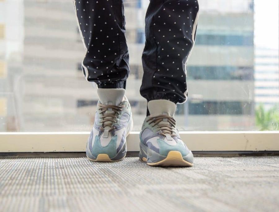 Adidas Yeezy 700 grise bleue et marron FW2499 (1)