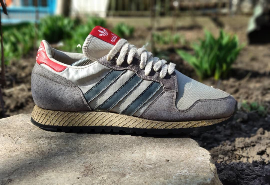 Adidas ZX 380 vintage made in France - @camposvintage