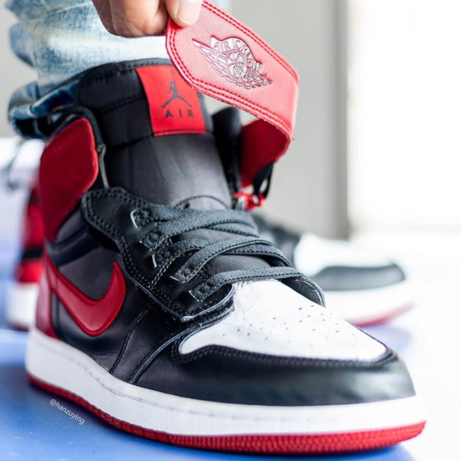 Air Jordan 1 High FlyEase rouge noire et blanche (3)