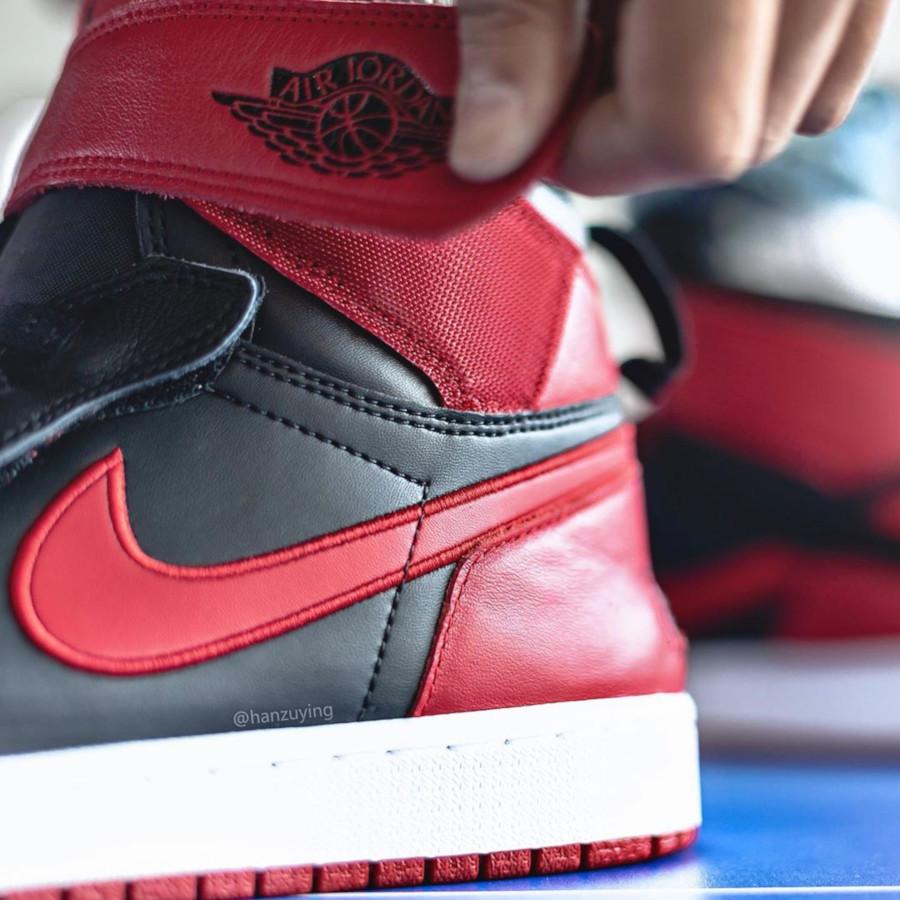 Air Jordan 1 High FlyEase rouge noire et blanche (5)
