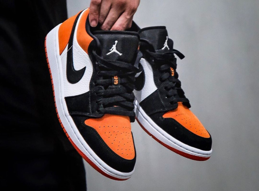 air jordan 1 low orange femme