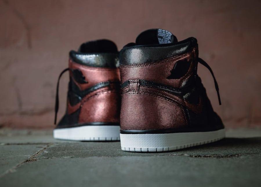 Air Jordan 1 noire et bronze CU6690-006 (1)