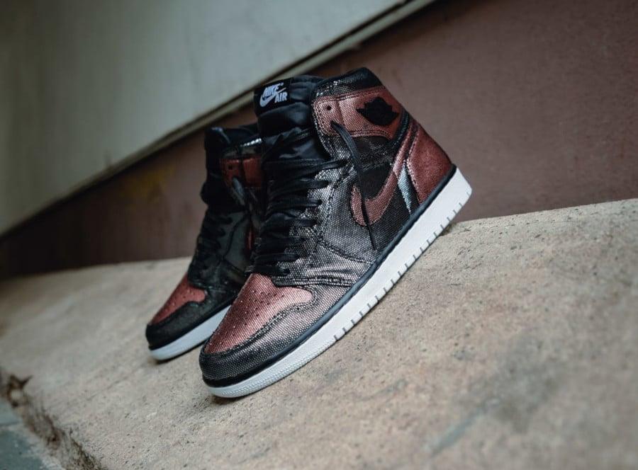 Air Jordan 1 noire et bronze CU6690-006 (2)