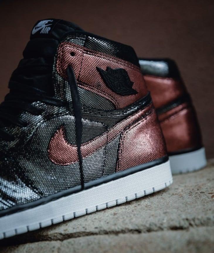 Air Jordan 1 noire et bronze CU6690-006 (3)