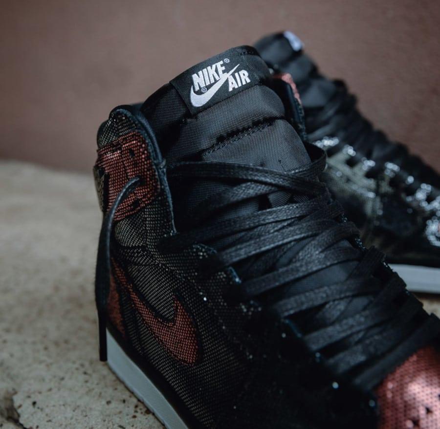Air Jordan 1 noire et bronze CU6690-006 (4)