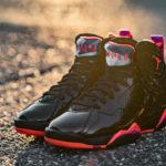 Womens Air Jordan 7 Retro Patent Leather 'Black Gloss'