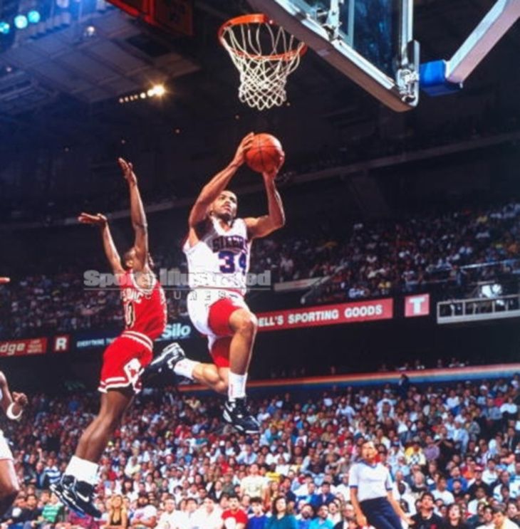 Charles Barkley en Nike Air Flight 89