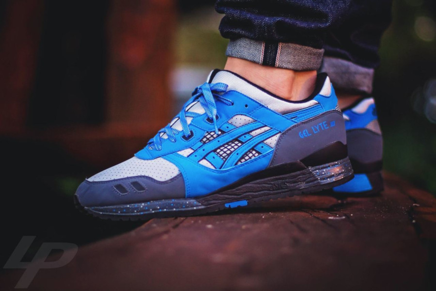 David Z x Asics Gel Lyte 3 Super Blue de 2009