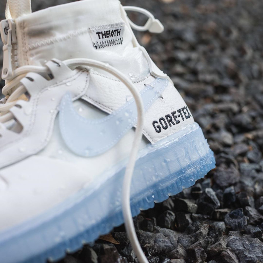 Duckboot Nike Air Force 1 Winter Gore Tex 10th 'Phantom White' (1)