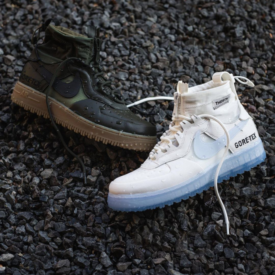 Duckboot Nike Air Force 1 Winter Gore Tex 10th 'Phantom White' (2)