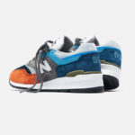 New Balance M 997 NAG 'Chambray Blue Grey Orange' (made in USA)