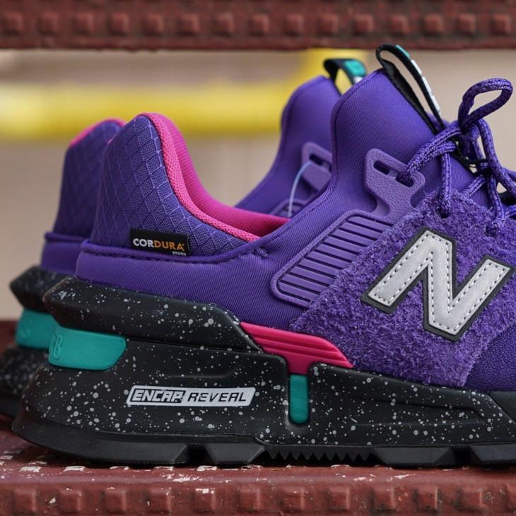 New Balance 997 Sport violet rose grise et turquoise (3)