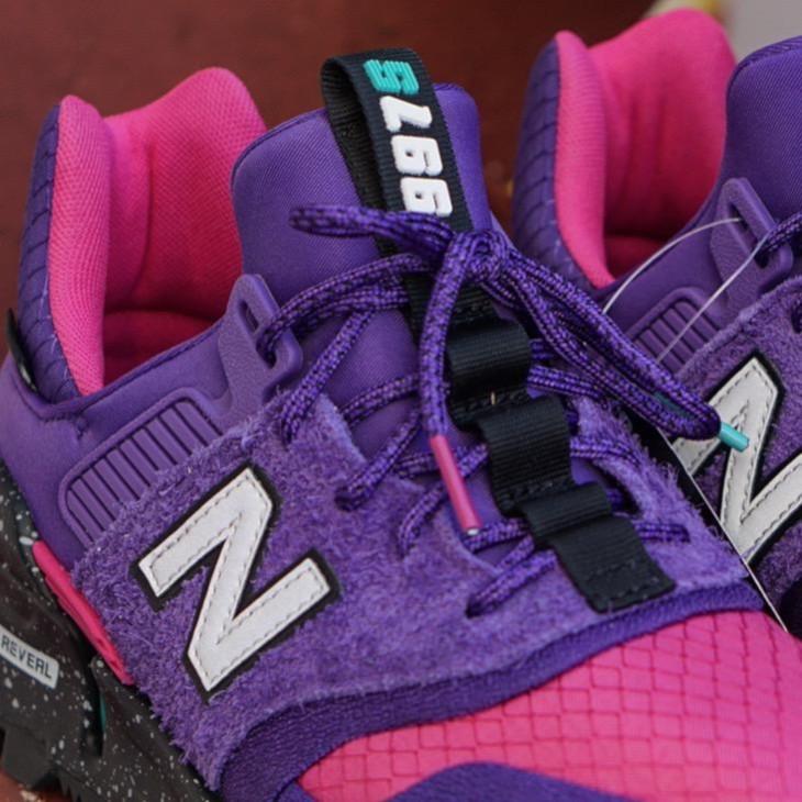 New Balance 997 Sport violet rose grise et turquoise (4)