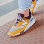 New Balance CW 997H Cordura 'Varsity Gold Dragon Fruit'