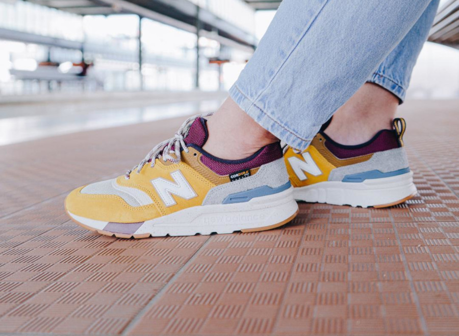 new balance 997h jaune femme