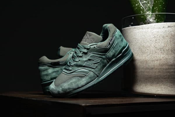 New Balance M997NAL Superfabric Dark Green