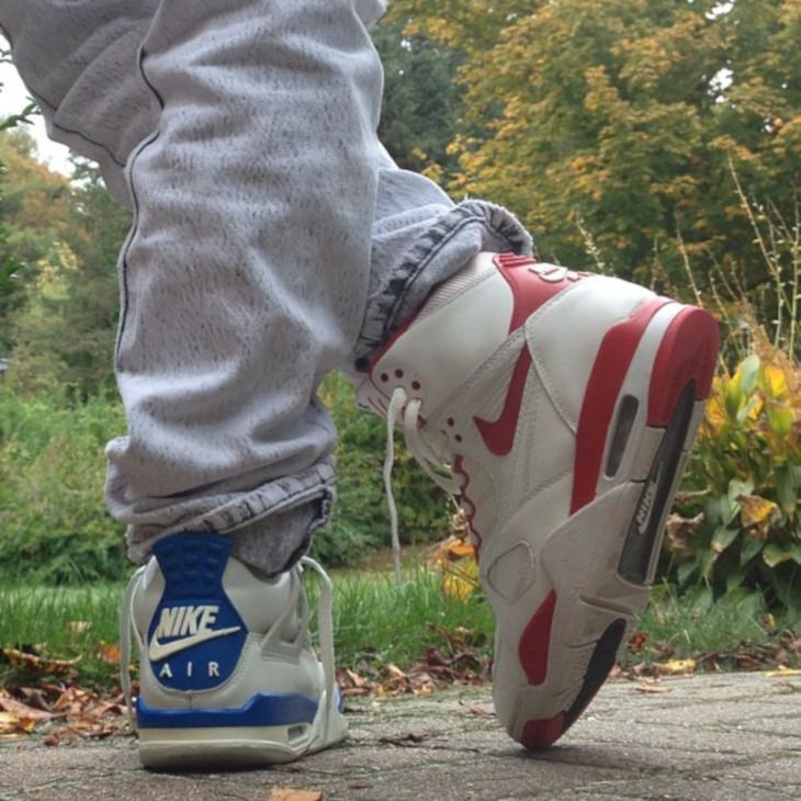 Nike Air Flight 89 OG vs Air Jordan 4 Retro - @korranda