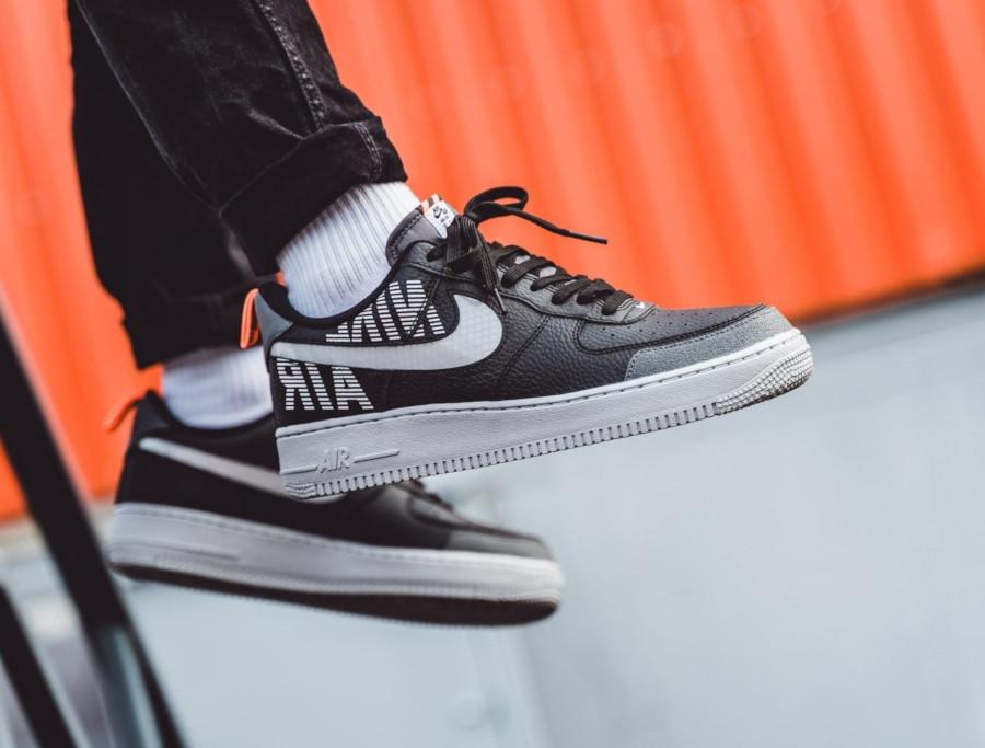 Nike-Air-Force-1-07-LV8-noire-blanche-et-grise-BQ4421-002-2