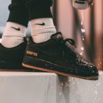 Nike Air Force 1 'Gore Tex' Black Light Carbon Bright Ceramic