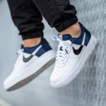 Nike Air Force 1 '07 LV8 NBA 'Midnight Navy White'