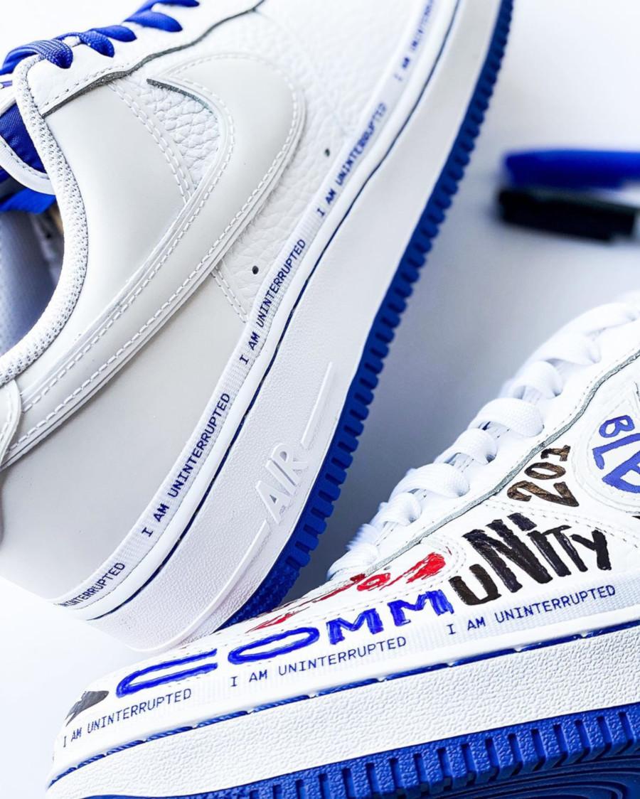 Nike Air Force 1 White Racer Blue CQ0494-100 (10)