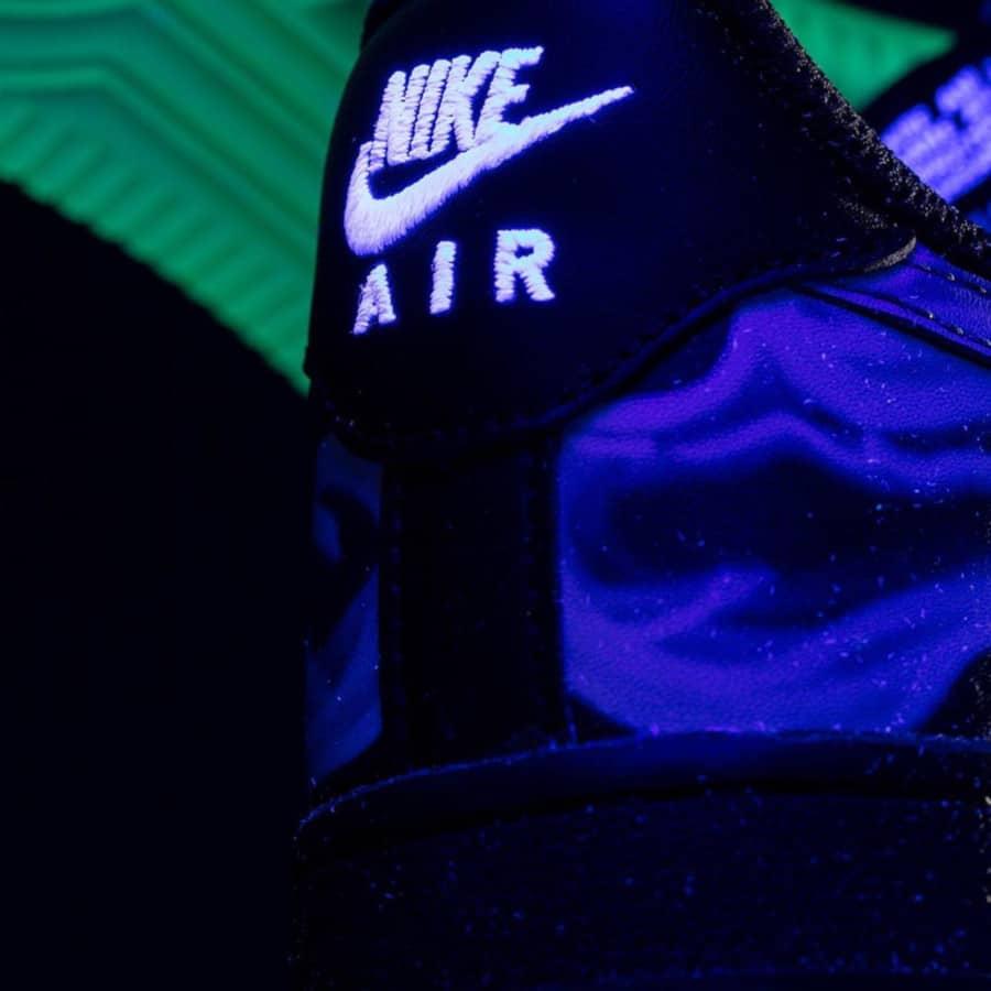 Nike Air Force One qui brille dans le noir (4)