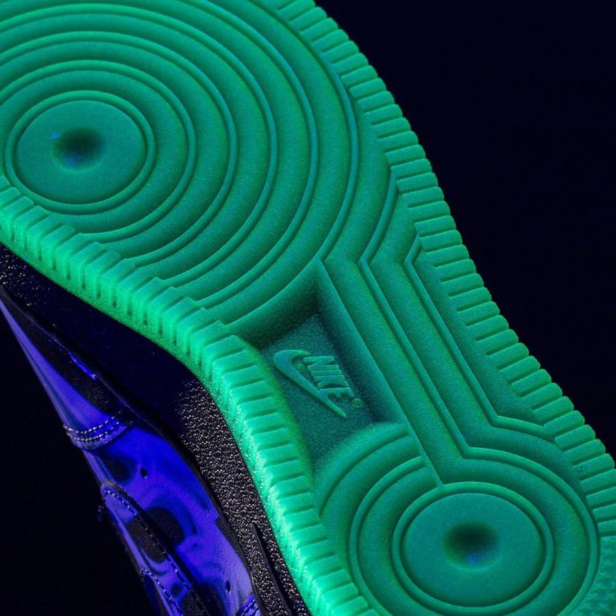 Nike Air Force One qui brille dans le noir (5)