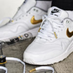 Nike Air Max 1 By You 'White Metallic Gold'