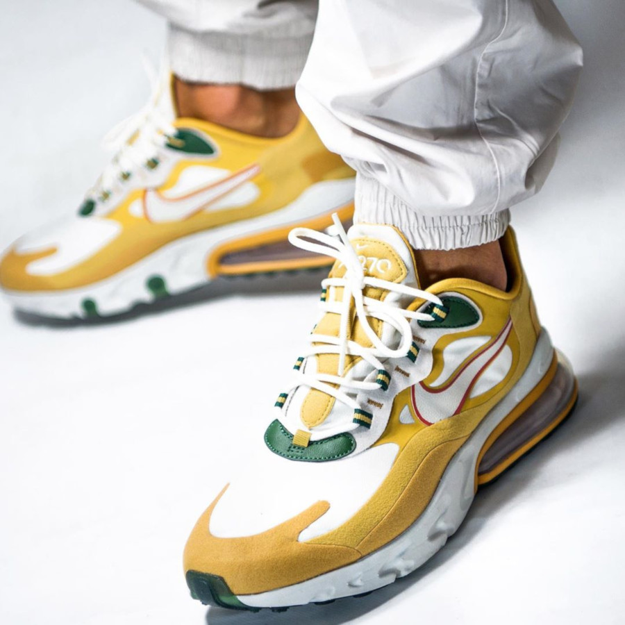 Nike Air Max 270 React Gold 'Reggae' (Music Pack)