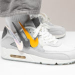 The Basement x Nike Air Max 90 'London' Grey Fog