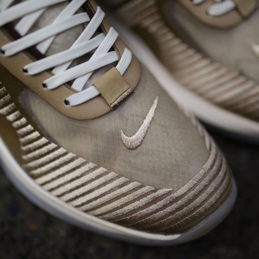 Nike Lebron James X John Elliott dorée et marron clair AQ0114-200 (2)